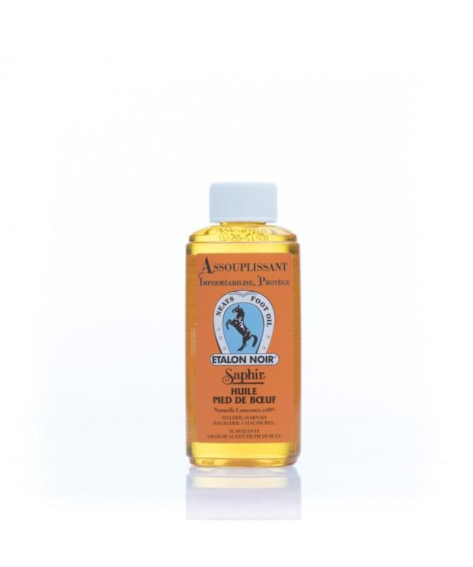 Olio impermeabilizzante e nutriente per suole in cuoio e pellami | Saphir Olio Piede di Bue