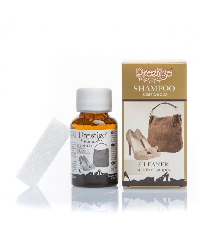 Smacchiatore per scarpe e borse in camoscio   Prestige Shampoo