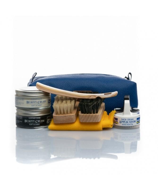Kit porta lucidi (da viaggio) con calzante | Movi Travel Kit