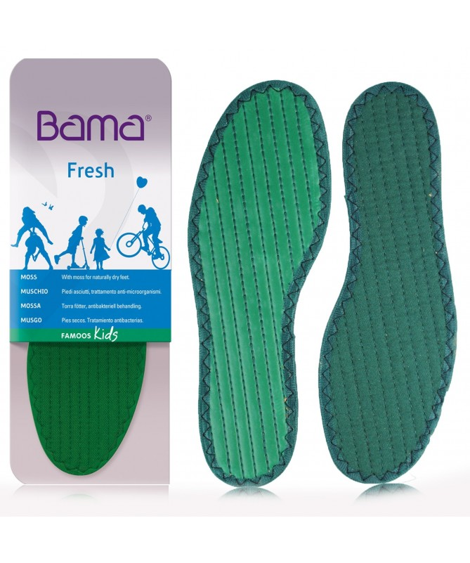 Solette da scarpe bambino deodoranti, anti sudore per piedi freschi | Sottopiede Bama Famoos Kids
