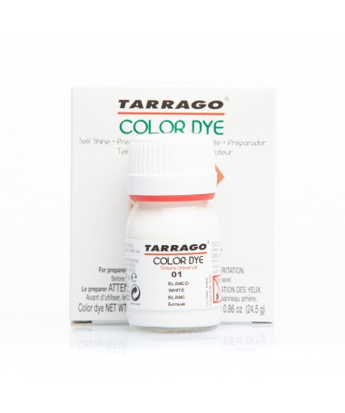 Tintura Tarrago per scarpe borse e oggetti in pelle, similpelle e tela | Tarrago ColorDye