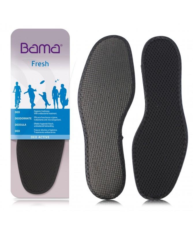 Solette da scarpe anti odore, deodoranti, anti sudore per piedi freschi | Sottopiede Bama Deo Active