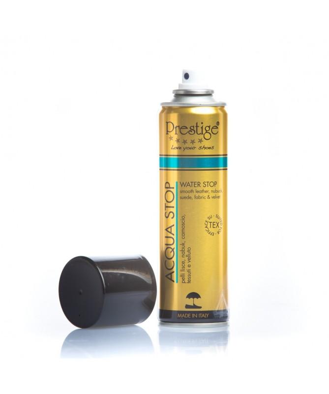 Impermeabilizzante spray anti acqua per scarpe in pelle, camoscio e nabuk | Prestige Acqua Stop