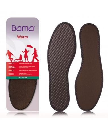 Soletta plantare per scarpe in caldo pile, riscalda i piedi, termica | Bama Tri Therm
