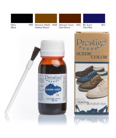 Tintura per scarpe in camoscio, rinnova o cambia colore | Prestige Suede Color