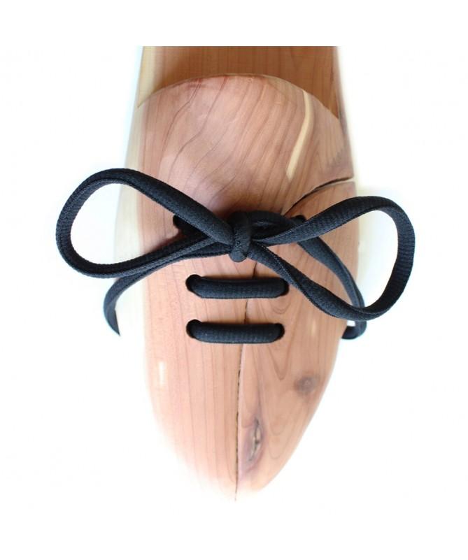 Lacci scarpe da ginnastica neri ovali | Prestige Shoe Laces