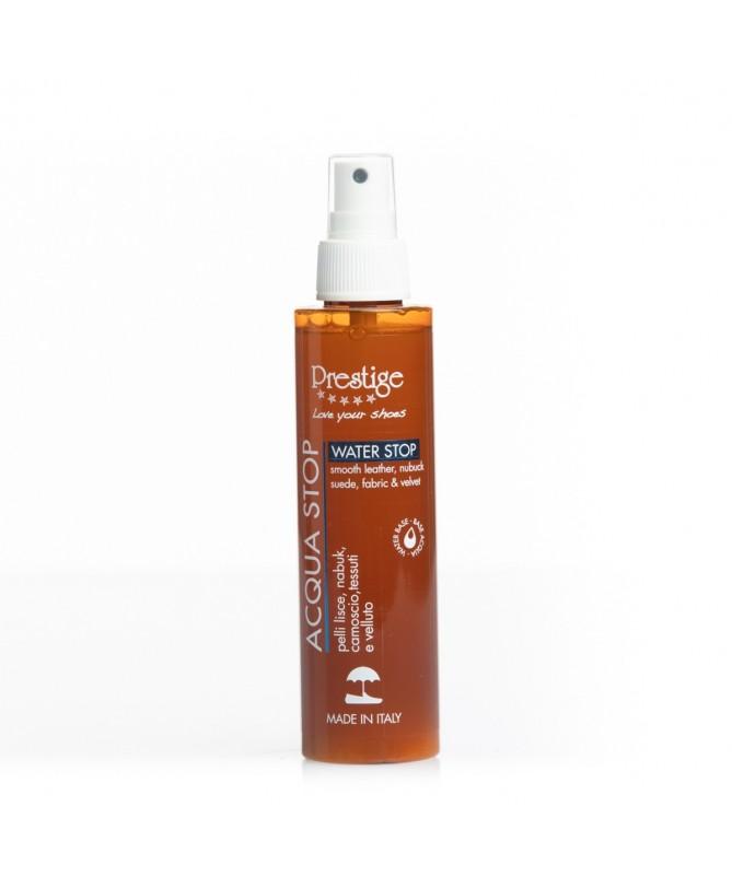 Impermeabilizzante spray No Gas anti acqua per scarpe in pelle, camoscio e nabuk | Prestige Acqua Stop