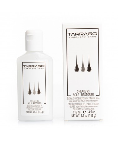 Detergente per pulire e sbiancare la gomma delle scarpe | Tarrago Sole Restorer