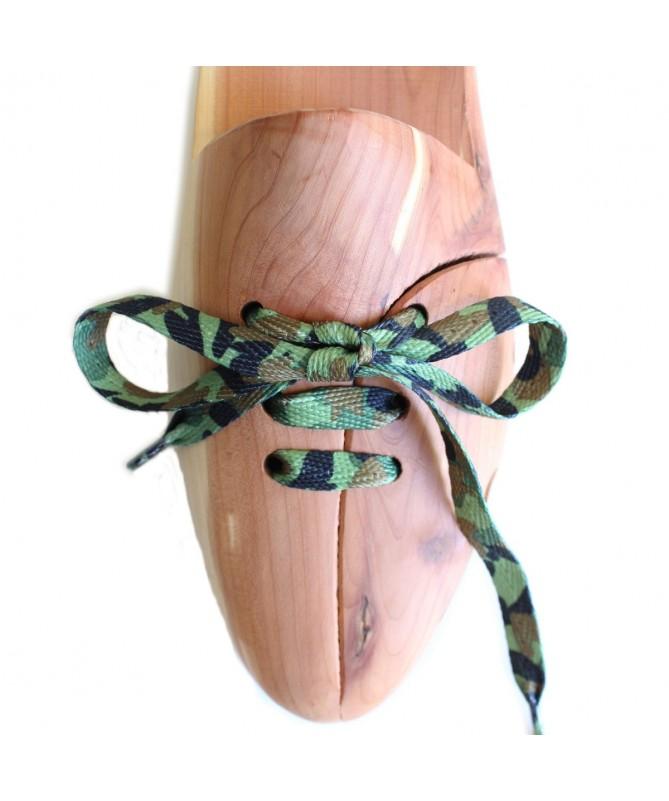 Lacci scarpe sneakers piatti mimetici | Prestige Shoe Laces